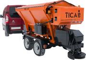 Автономный разбрасыватель песчано-солевой смеси РПС-1500